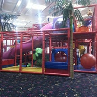 Photo taken at Jungle Rapids Family Fun Park by Kendra S. on 4/5/2013
