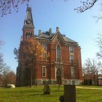 Photo taken at DePauw University by Evan F. on 11/9/2012
