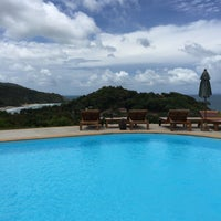 Photo taken at Baan Kantiang Villa Resort by Kojiba O. on 8/21/2015