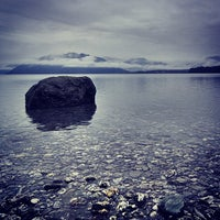 Photo taken at Lake Wanaka by Shan M. on 7/5/2013
