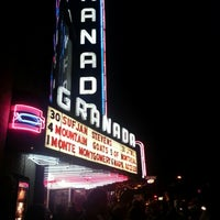 Photo taken at Granada Theater by Jim D. on 12/1/2012