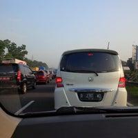 Photo taken at Gerbang Tol Cimanggis Utama by yani t. on 3/14/2016
