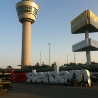 Photo taken at Amsterdam Airport Schiphol (AMS) by Ilhan M. on 7/9/2013