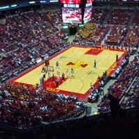 Photo taken at James H. Hilton Coliseum by David E. on 11/13/2012