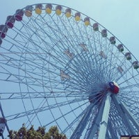 Photo taken at Texas Star Ferris Wheel by Heather B- D. on 8/4/2013