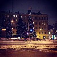Photo taken at Памятник Добролюбову by ндрей . on 12/13/2012