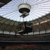 Photo taken at BC Place by Brian S. on 6/16/2013