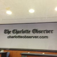 Photo taken at The Charlotte Observer by Troy P. on 4/2/2013
