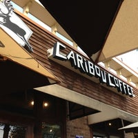 Photo taken at Caribou Coffee by Andrew F. on 10/15/2012