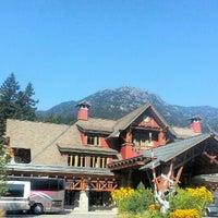 Photo taken at Nita Lake Lodge by Faye S. on 9/23/2012