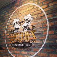 Photo taken at TooJay's Gourmet Deli by Etan H. on 4/11/2013