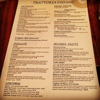 Photo taken at Trattoria Stefano by Rich J. on 10/10/2014