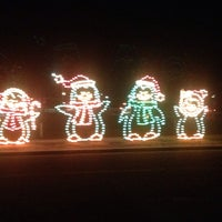 Photo taken at Cuero's Christmas in the Park by Tim P. on 11/29/2013