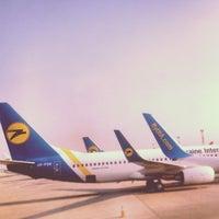 Photo taken at Boryspil International Airport (KBP) by Sophia P. on 4/19/2013