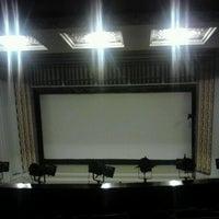 Photo taken at Salle de Cinéma Le Colisée by Amel B. on 11/17/2012