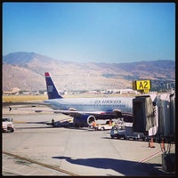 Photo taken at Salt Lake City International Airport (SLC) by Christian F. on 10/6/2013