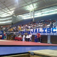 Photo taken at Complejo Panamericano de Voleibol by Christian F. on 5/26/2013
