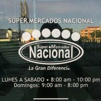 Photo taken at Supermercados Nacional by Raul C. on 11/20/2012