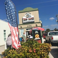 Photo taken at mad dogs hot dogs by Sarah B. on 11/18/2016