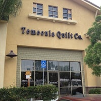 Photo taken at Temecula Quilt Co. by Fred D. on 7/26/2013