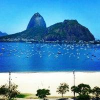 Photo taken at Enseada de Botafogo by Luis G. on 12/24/2012