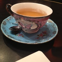 Photo taken at T2 Tea House by Sally F. on 11/6/2012