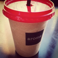 Photo taken at Aroma Espresso Bar by Jimin L. on 2/25/2013