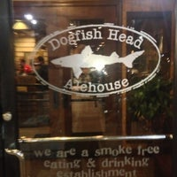 Photo taken at Dogfish Head Alehouse by Ken P. on 10/4/2012