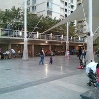Photo taken at Plaza Los Palos Grandes by Juan Carlos A. on 8/6/2013