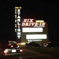 Photo taken at Starlight Six Drive-In by Terrance G. on 10/7/2012