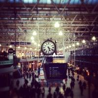 Photo taken at London Waterloo Railway Station (WAT) by Richard T. on 3/5/2013