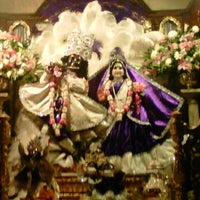 Photo taken at Radha Govinda Mandir by Radhika P. on 11/29/2012