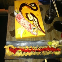 Photo taken at Yuzu Sushi and Robata Grill by Jackie F. on 4/24/2013