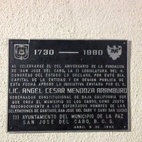 Photo taken at Palacio Municipal by Souheil B. on 2/22/2014