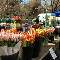 Photo taken at Union Square Greenmarket by Mandy M. on 3/29/2013