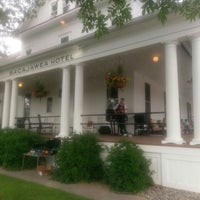 Photo taken at Sacajawea Hotel by Susie H. on 7/1/2016