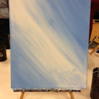 Photo taken at Painting with a Twist by Savannah B. on 12/8/2012