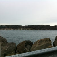Photo taken at Petit Passage Ferry by Dave K. on 11/27/2012