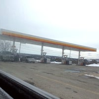 Photo taken at Shell by Dave K. on 3/1/2014
