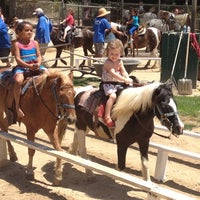 Photo taken at Griffith Park Pony Rides by Matt M. on 7/24/2013