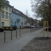 Photo taken at Altstadt Durlach by Manuel S. on 4/21/2013