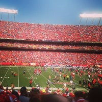 Photo taken at Arrowhead Stadium by Dave N. on 9/15/2013
