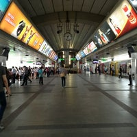Photo taken at BTS Siam (CEN) by Ki Ki Y. on 6/11/2013