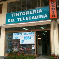 Photo taken at Tintoreria Del Telecabina by Pep A. on 10/16/2012