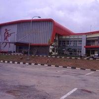 Photo taken at jakabaring by Ariza on 10/20/2012