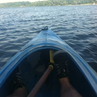Photo taken at Stony Creek Kayak/Canoe Rental by Kenneth B. on 6/18/2013