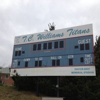 Photo taken at T.C. Williams High School by Kelli on 1/1/2013