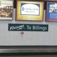 Photo taken at Billings Logan International Airport (BIL) by Phillip G. on 2/1/2013
