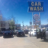 Photo taken at Olympic Car Wash by Raymond Y. on 8/16/2016