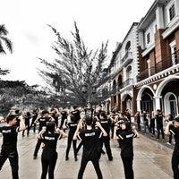 Photo taken at SMA Sutomo 1 Medan by Alex O. on 2/25/2014